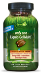 Only One Liquid-Gel Multi With Iron