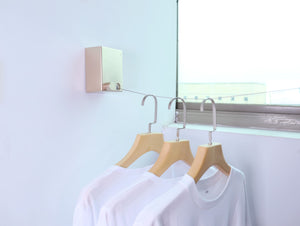 Invisible retractable clothes dryer