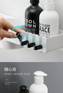 Creative Bathroom Rack