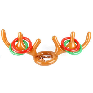 HOLIDAY SALE - Christmas Reindeer Antler Ring Toss Game