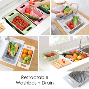 Retractable Washbasin Drain