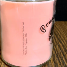 Load image into Gallery viewer, Pomegranate Scented Soy Wax Candle in Glass Container - 40+ Hour Burn Time - 9 oz Candle
