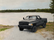 Load image into Gallery viewer, Custom Oil Painting of your photo of Vehicle, Bike, or Heavy Equipment - Woods Imagery
