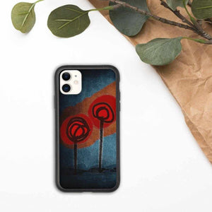 Ouvrir l'image dans le diaporama, Biodegradable phone case Poppies by NotStephan - La Little Popart Gallery