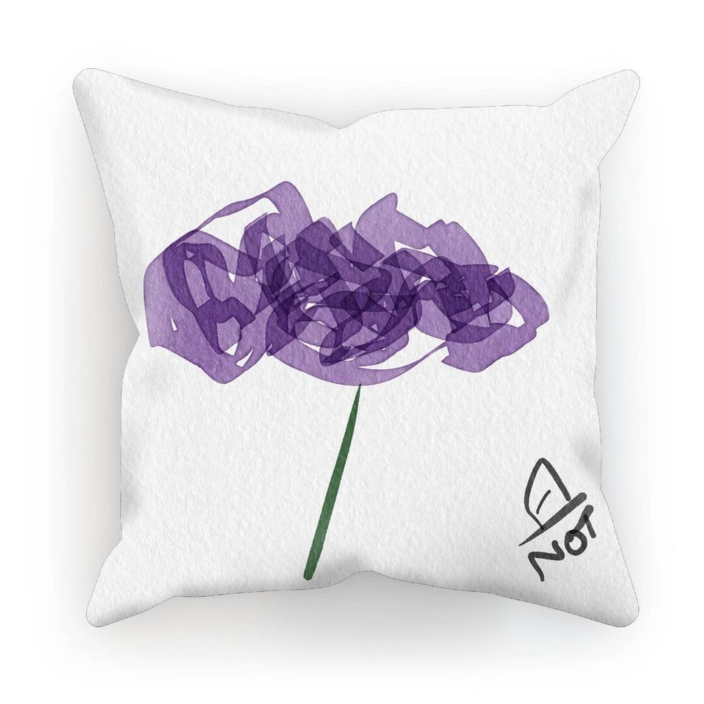N°4 insomniac flower collection - by Not Stephan Cushion - La Little Popart Gallery