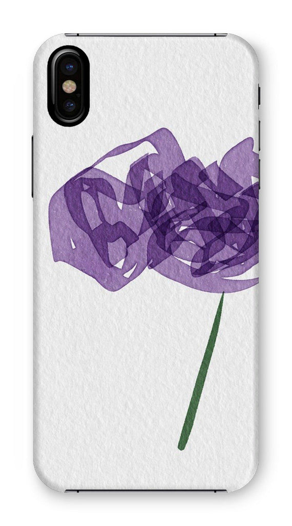 N°4 insomniac flower collection - by Not Stephan Phone Case - La Little Popart Gallery