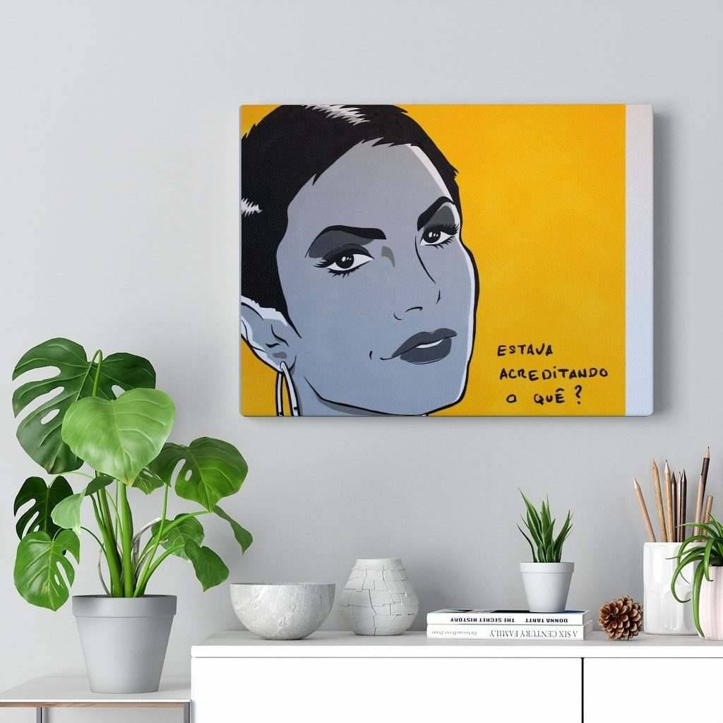Vanessa Canvas Gallery Wraps - Vanessa collection - Jean Sebastien Plaut - La Little Popart Gallery