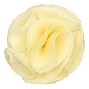 Ivory Men's Solid Lapel Pin Rose