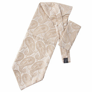 Taupe Paisley Ascot