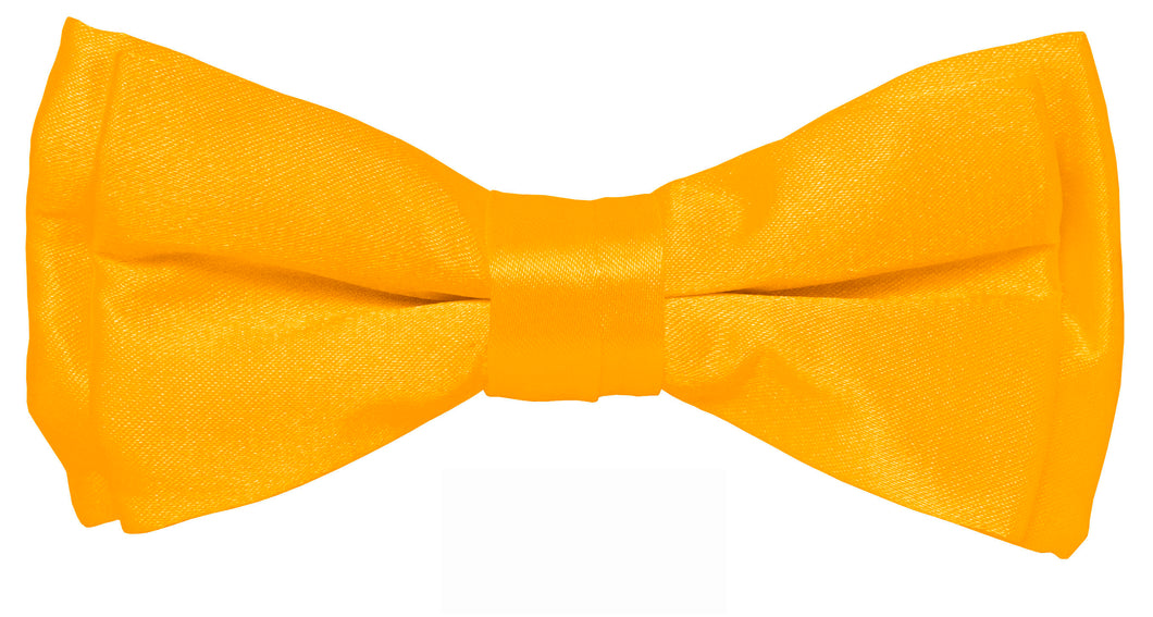 Amber Boys Solid Pretied Silky Bow Tie Only