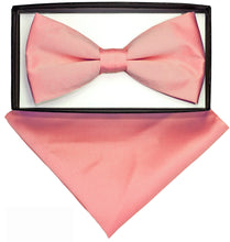 Load image into Gallery viewer, Bubble Gum Pink Bow Tie