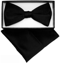 Load image into Gallery viewer, Black Bow Tie