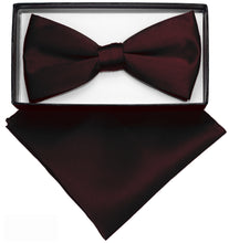 Load image into Gallery viewer, Brown Bow Tie