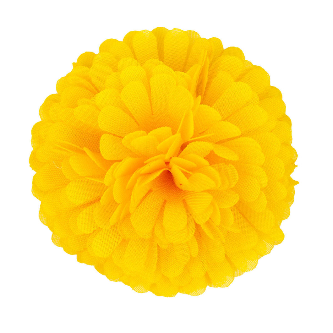 Carnation Lapel Pin Yellow