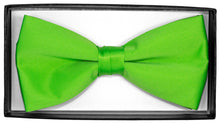 Load image into Gallery viewer, Lime Bow Tie