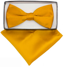 Load image into Gallery viewer, Mustard Bow Tie