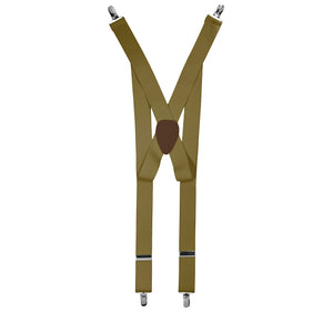 Taupe Clip End Suspender