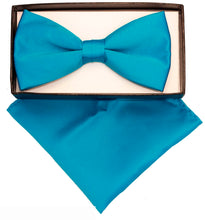 Load image into Gallery viewer, Turquoise Bow Tie