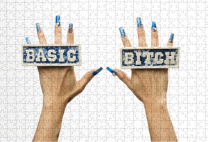 """Basic Bitch"" by Jennifer Ling Datchuk 500 pc Puzzle"