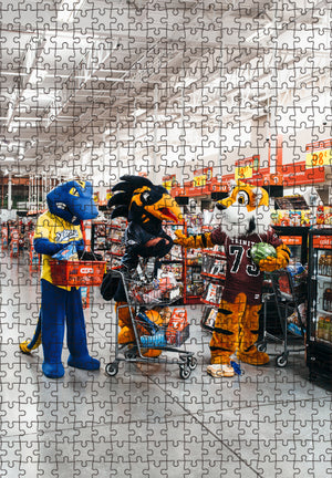 """Excuse me, that's not 6 feet"" by Josh Huskin 500 or 1000 pc Puzzle"