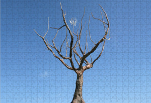 """Tree of Knowledge of Good and Evil"" by Chris Sauter 500 pc Puzzle"