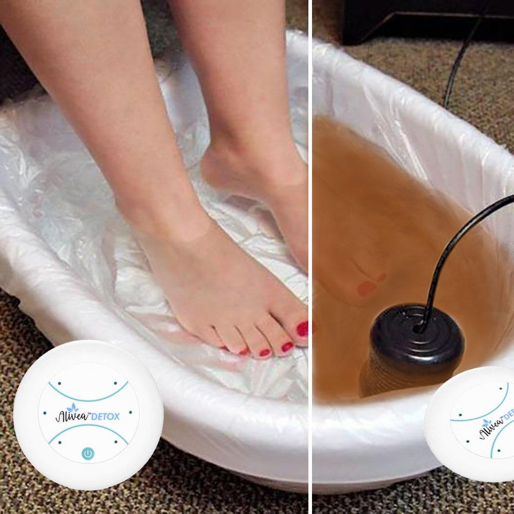 ALIVEA DETOX IONIZED FOOT BATH KIT - Alivea Detox