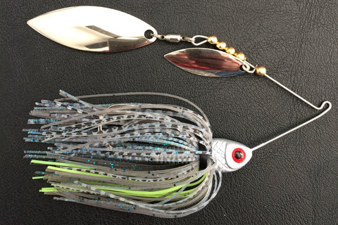 3/8 oz. Double Willow Shad Head Spinnerbait