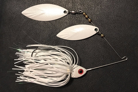 """Snow White"" Spinnerbait"