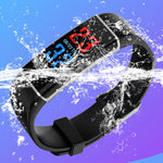 Touch Screen Bracelet Smart Watch Men Women Sports Timer Fitness Activity Heart Rate Tracking Blood Pressure Calorie Monitor
