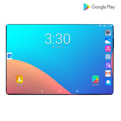 2019 New Design 10.1 inch android 9.0 Tablet Pc 6GB And 64GB Dual SIM Card 1280*800 HD Large Screen Dual Camera 8 Core