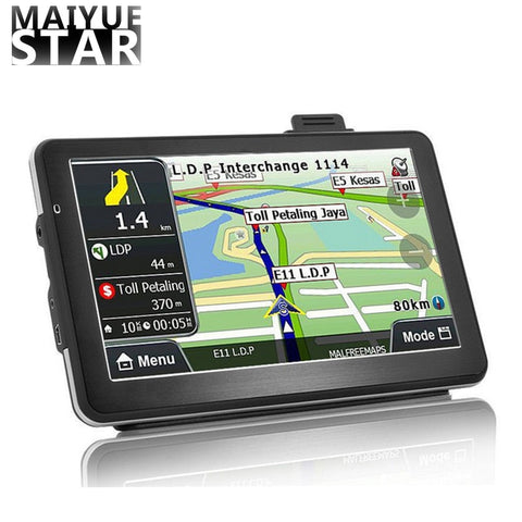 Maiyue star 7-inch car GPS navigation Android quad-core 256-8Gb voice conversion Navigator car life map free update