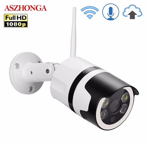 2MP Mini Home Wifi Security Camera Outdoor 1080P HD Wi-Fi IP Camera Waterproof IR Night Vision CCTV Surveillance Bullet Cam