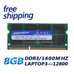 KEMBONA best price sell 1.35V DDR3L 1600 MHz DDR3 PC3L-12800S 8GB SO-DIMM Ram for Laptop / Notebook