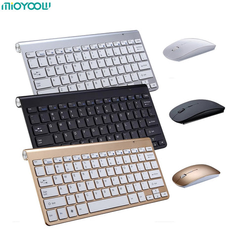 Portable Wireless Keyboard for Mac Notebook Laptop TV box 2.4G Mini Mouse Set Office Supplies for IOS Android Win 7 10