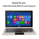 "Jumper EZpad 6s pro / EZpad 6 pro 2 in 1 tablet 11.6"" 1080P IPS Apollo Lake N3450 6GB DDR3 128GB SSD+64GB eMMC win10"