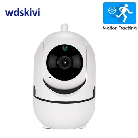 wdskivi Auto Track 1080P IP Camera Surveillance Security Monitor WiFi Wireless Mini Smart Alarm CCTV Indoor Camera YCC365 Plus