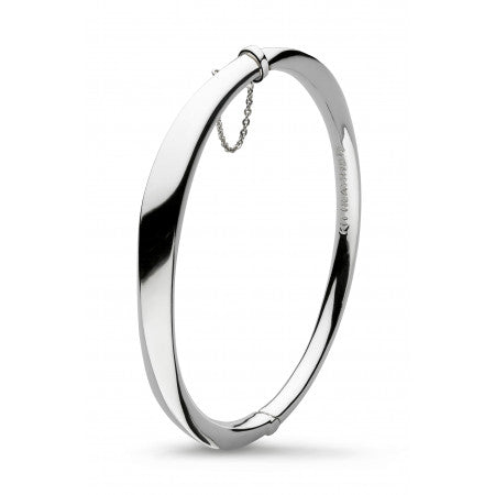 Kit Heath Bevel Cirque Hinged Bangle