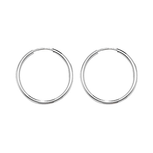 STERLING SILVER 18MM SLEEPERS