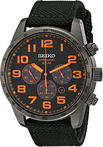 Seiko Gents Chronograph Solar Powered Watch SSC233P9