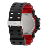 Casio G-Shock Limited Edition Dual Display Red Plastic Strap Watch