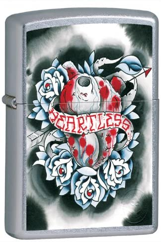 Zippo Heartless Tattoo Art Lighter