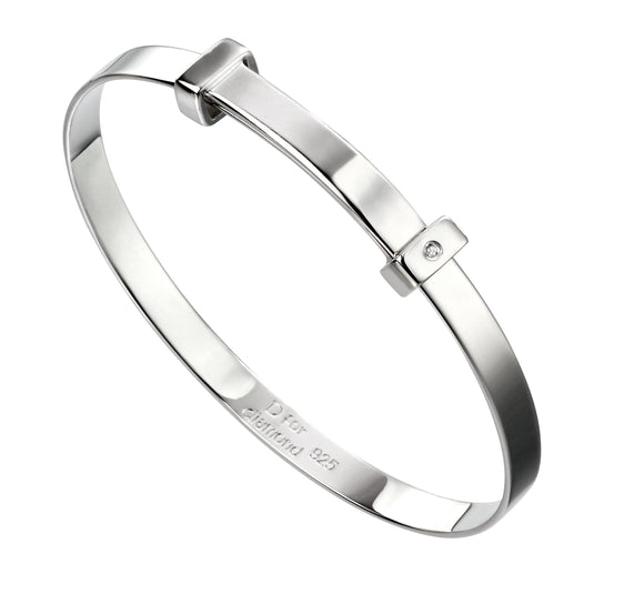 D for Diamond Bangle