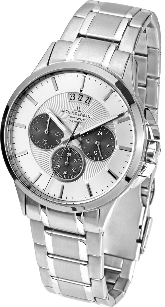 Jacques Lemans Stainless Steel Classic Watch