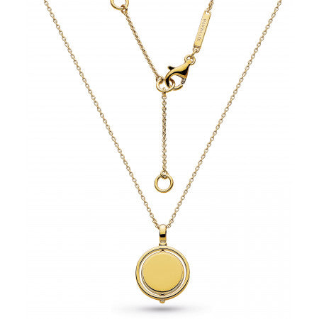 Kit Heath  Empire Revival Round Spinner Gold Plated Necklace