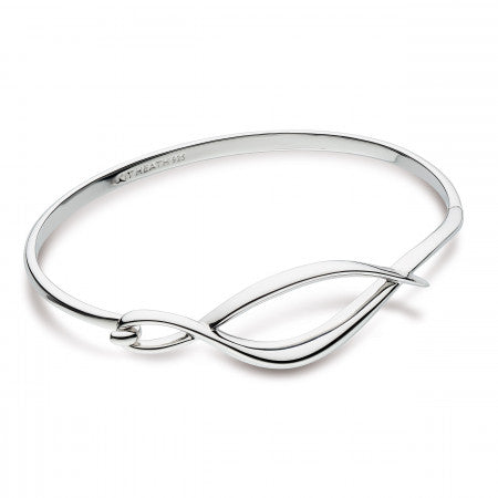 Kit Heath Entwine Twine Twist Hinged Bangle