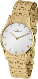 Jacques Lemans Ladies Gold Plated Watch