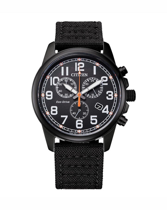 Citizen Gents Eco Drive Chronograph Strap Watch
