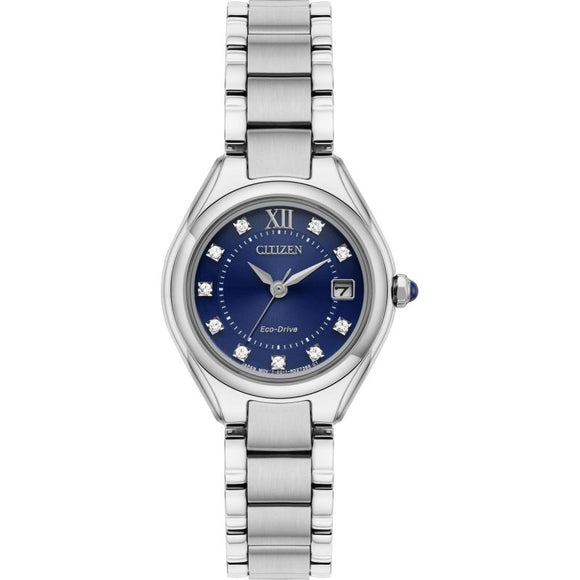 Ladies Citizen Silhouette Crystal Watch EW2540-83L