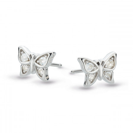 Kit Heath Sterling Silver Stud Earrings
