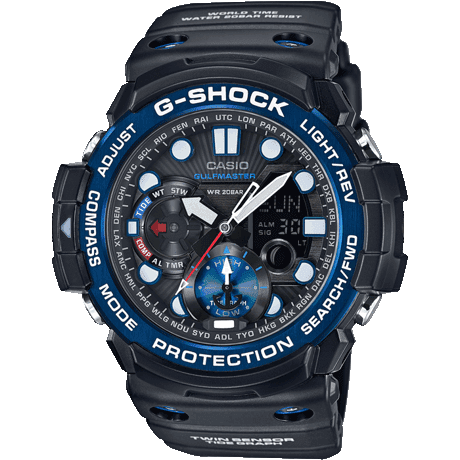 Casio G-Shock Gulfmaster Alarm Chronograph Watch